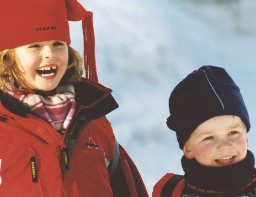 Dzieci mojej siostry w Norwegii