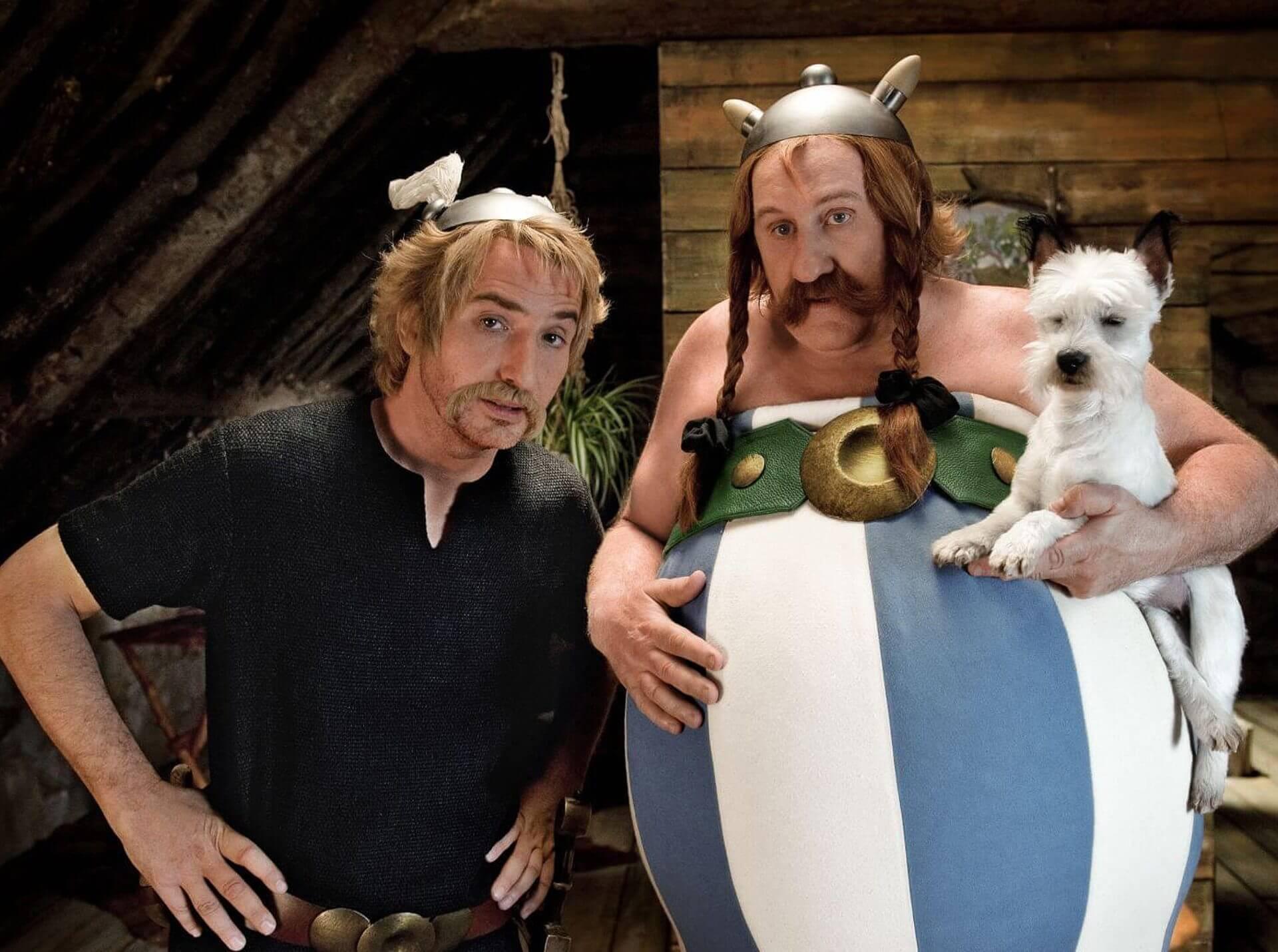 Asterix iObelix wsłużbie jej królewskiej mości