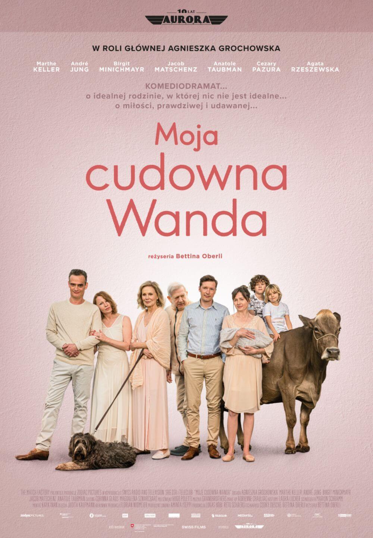 Moja cudowna Wanda- komediodramat zAgnieszką Grochowską wroli głównej -plakat